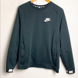 Nike Black Pullover Sweater Black Size Medium